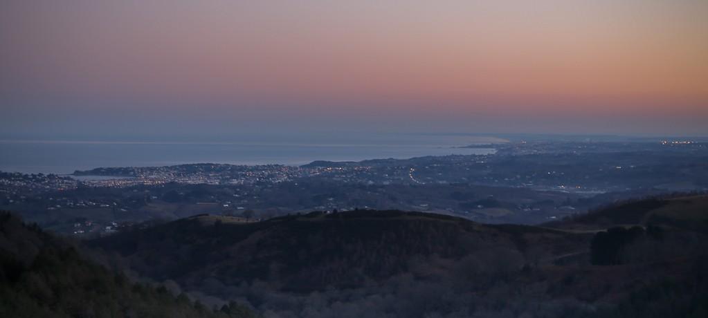 lever soleil cote basque