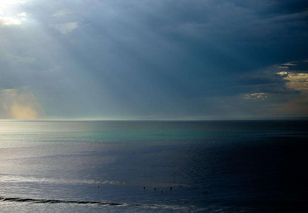 Lueur sur l'ocean