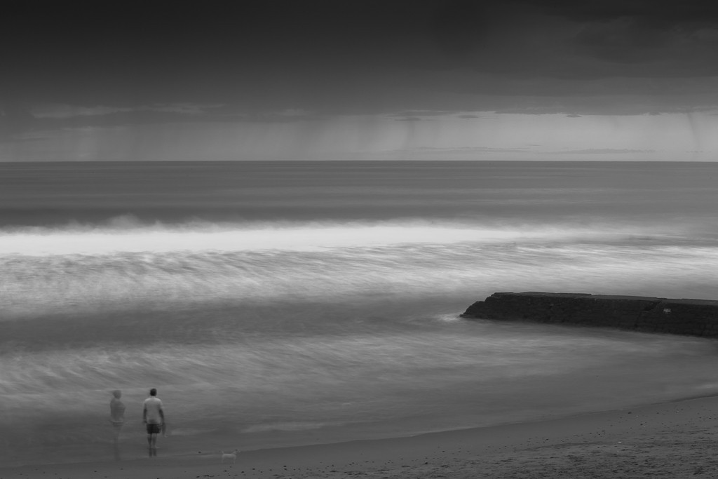 Pause sur l'océan