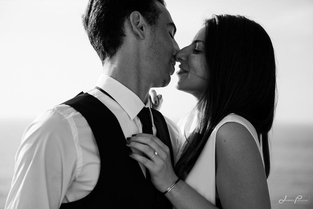 seance engagement couple photographe cote basque emak bakea