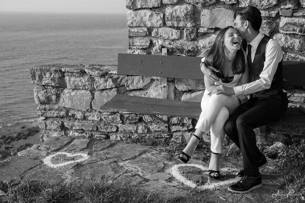 seance engagement couple photographe bidart emak bakea