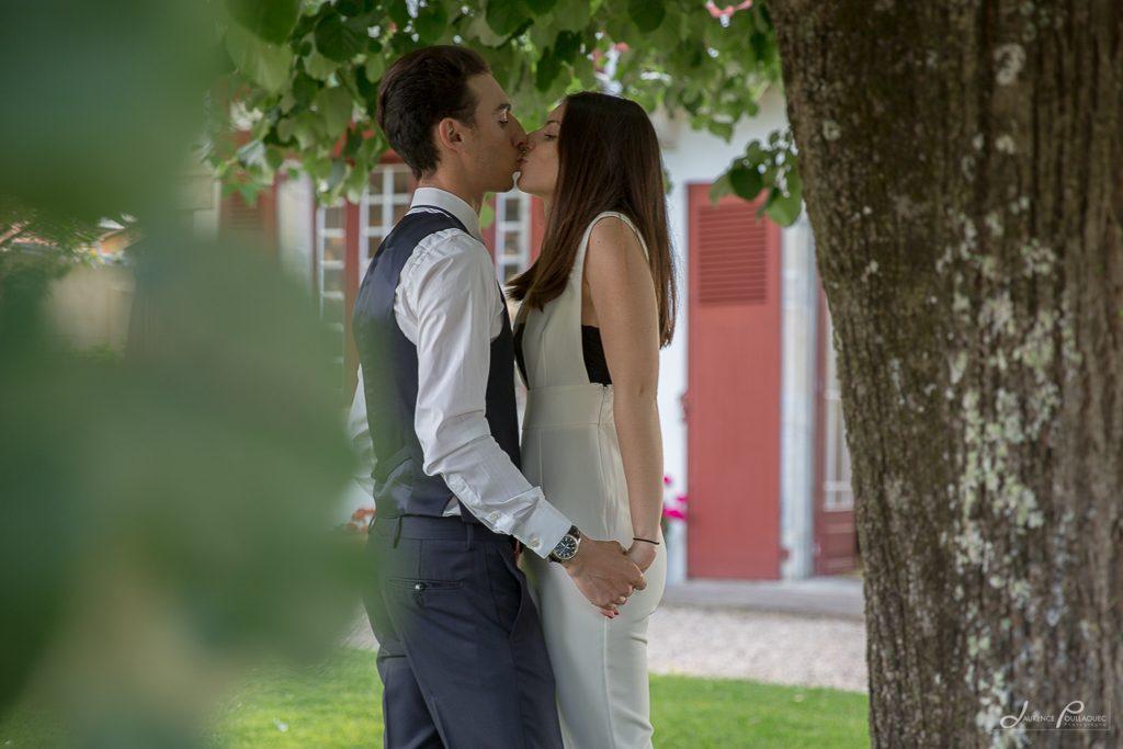 seance engagement couple photographe bidart mariage emak bakea