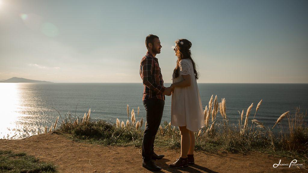 engagement seance photo couple lifestyle bidart