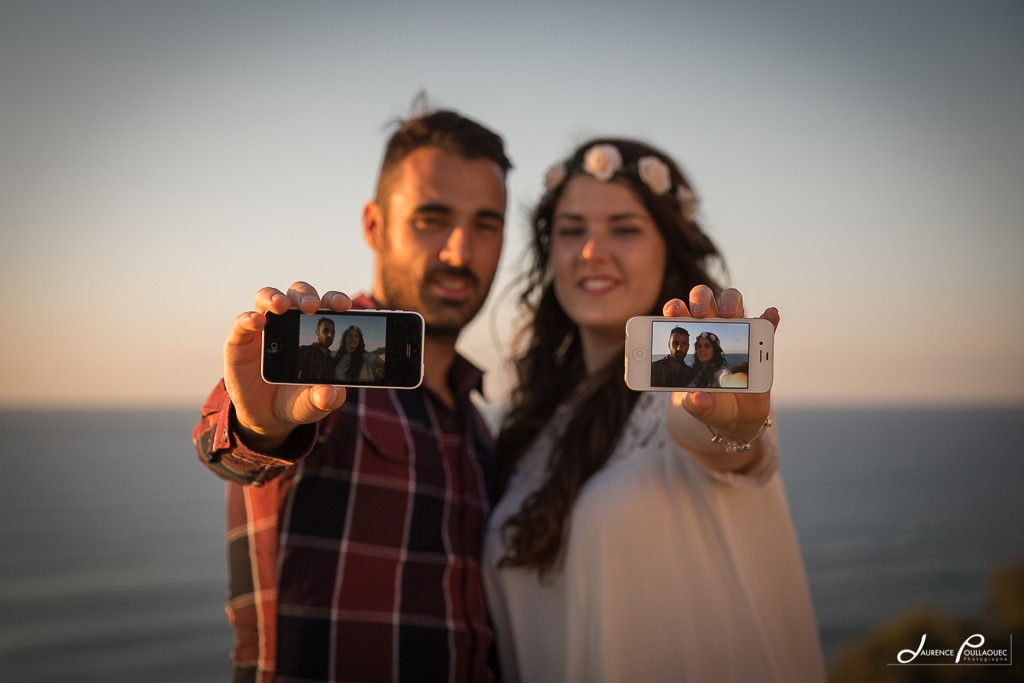 seance photo couple lifestyle biarritz iphone