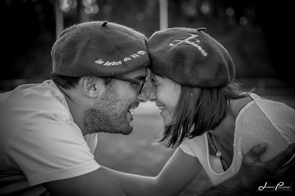 couple seance engagement rugby cote basque biarritz