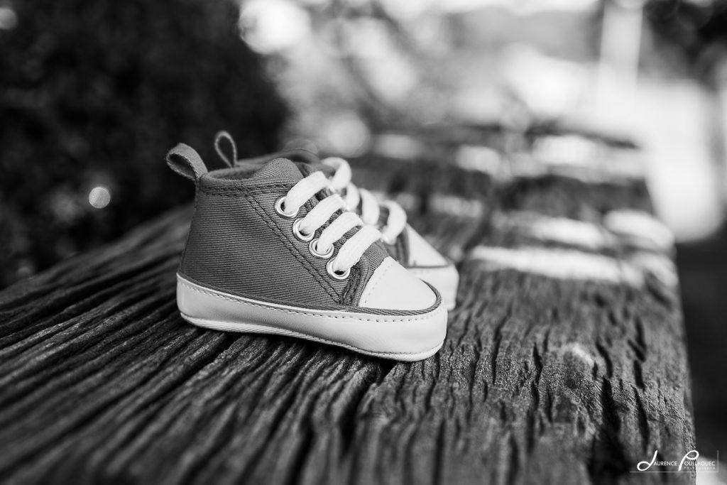 chausson bebe photographe grossesse