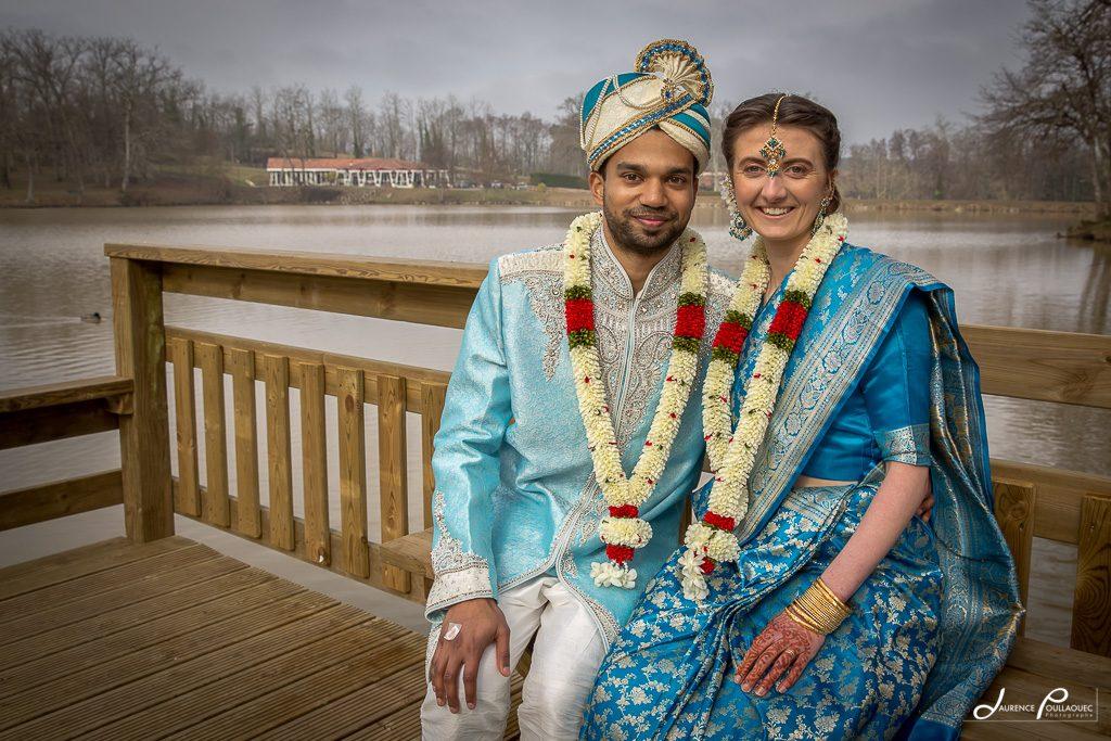 mariage franco indien landes laurence poullaouec photographe