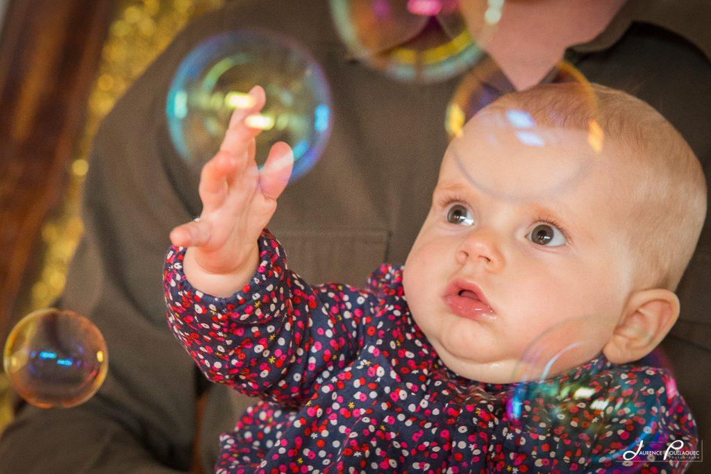 portrait bebe arbonne bidart bulle photographe laurence poullaouec