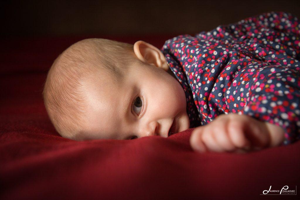 portrait bebe arbonne photographe laurence poullaouec