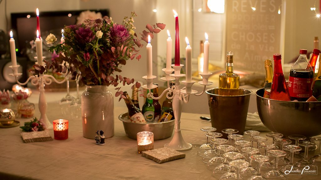 cocktail mariage reception domicile