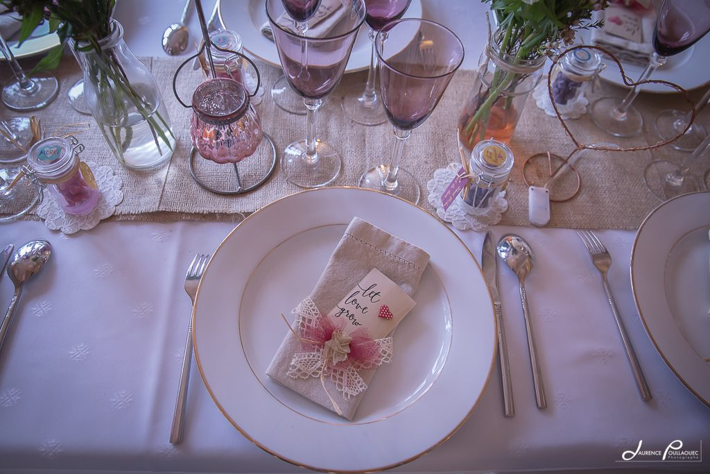 table reception mariage pays basque