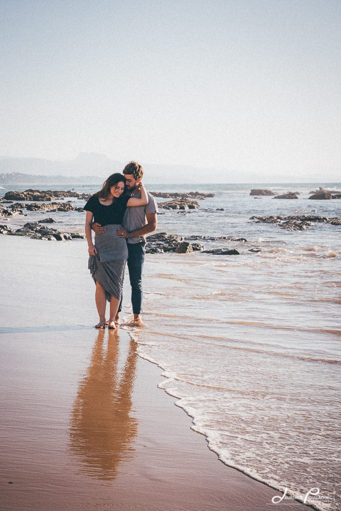 engagement mariage couple photographe bidart