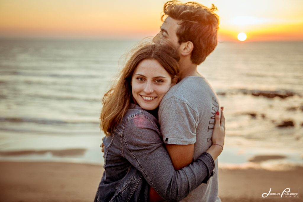 amoureux engagement mariage bidart