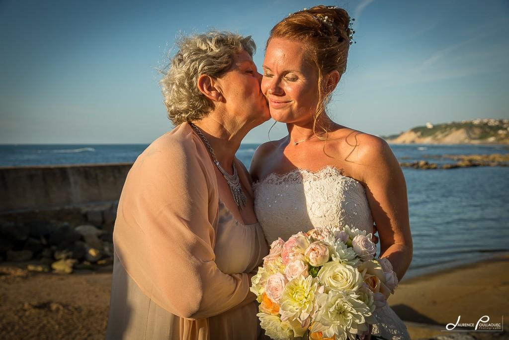 maman mariée tendresse emotion mariage guetary