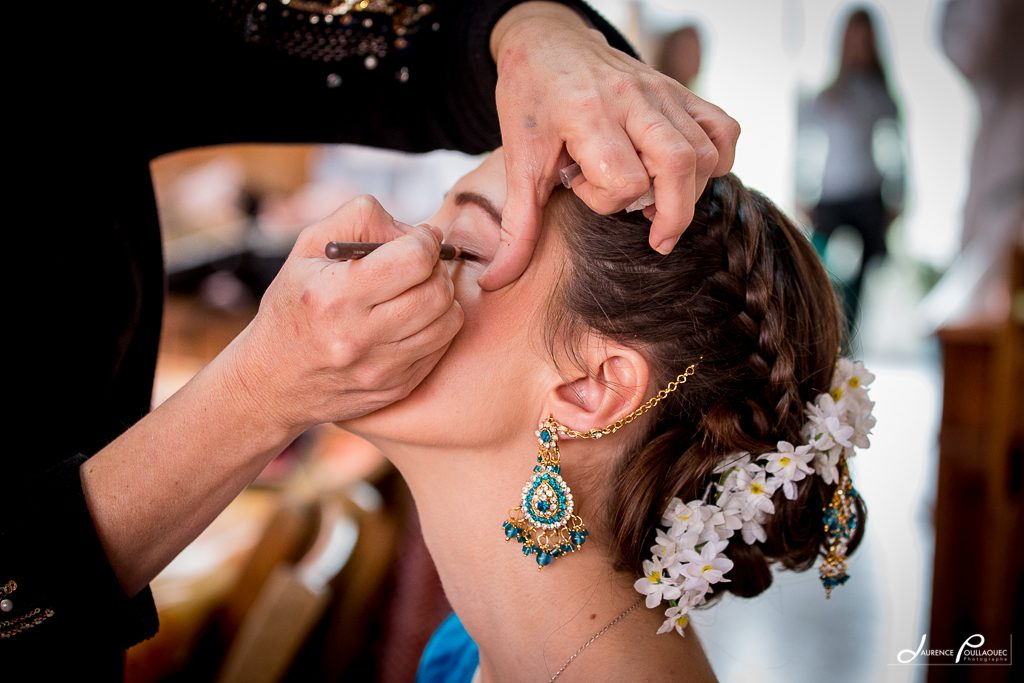 maquillage mariage franco indien landes pays basque