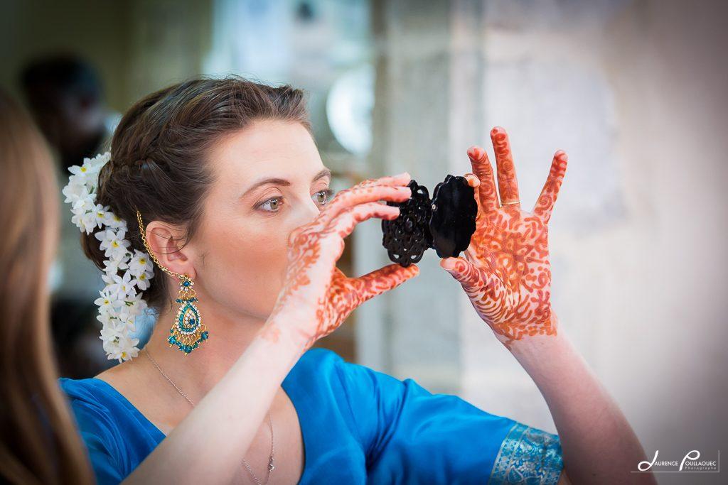 maquillage mariee indien landes pays basque