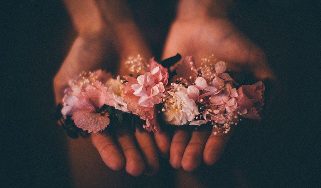 couronne fleurs mariage biarritz