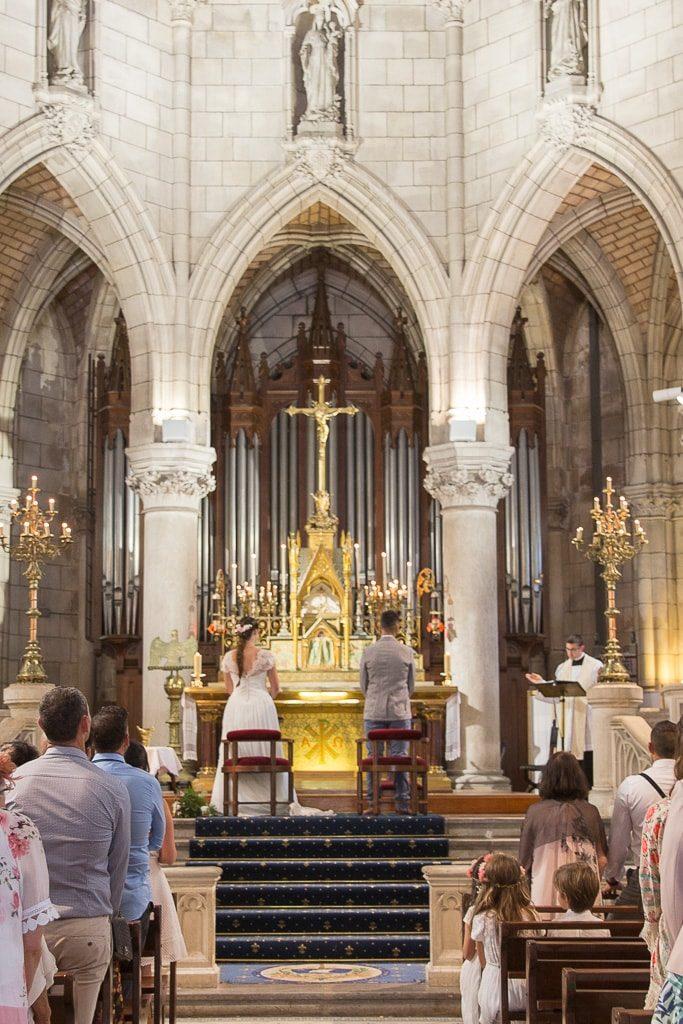 ceremonie religieuse eglise sainte eugenie