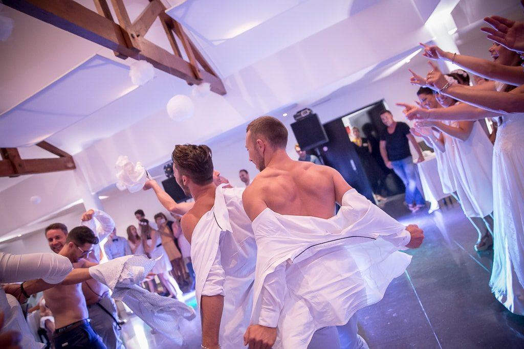 danse marié temoins