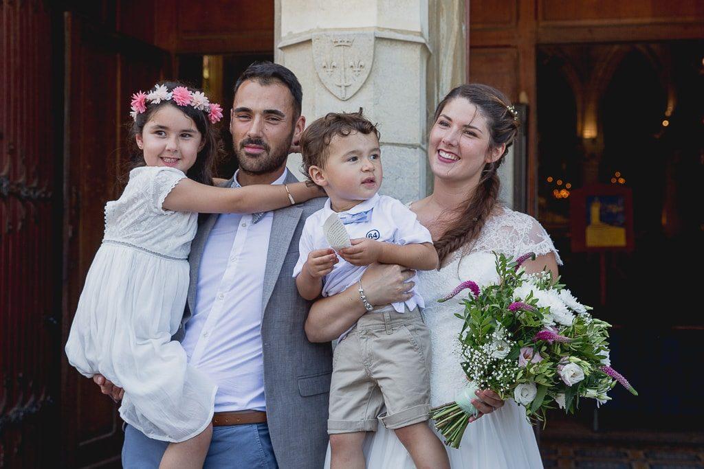 famille mariage religieux eglise sainte eugenie
