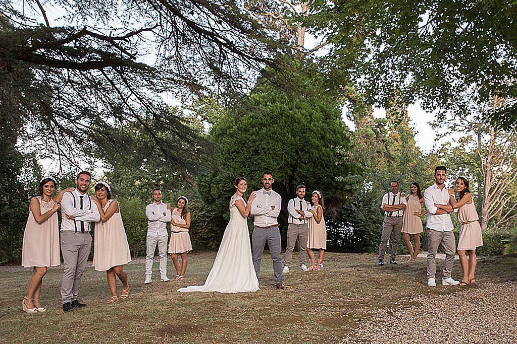 Mariage bohème au Domaine de Larbéou