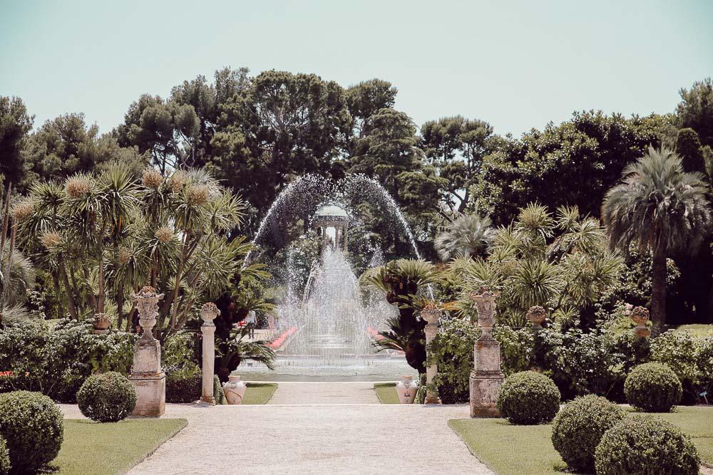 fontaine villa ephrussi rothschild