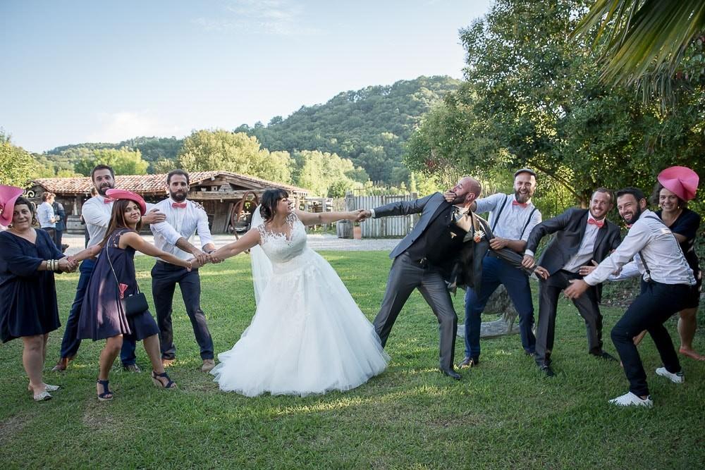 photo groupe mariage pays basque
