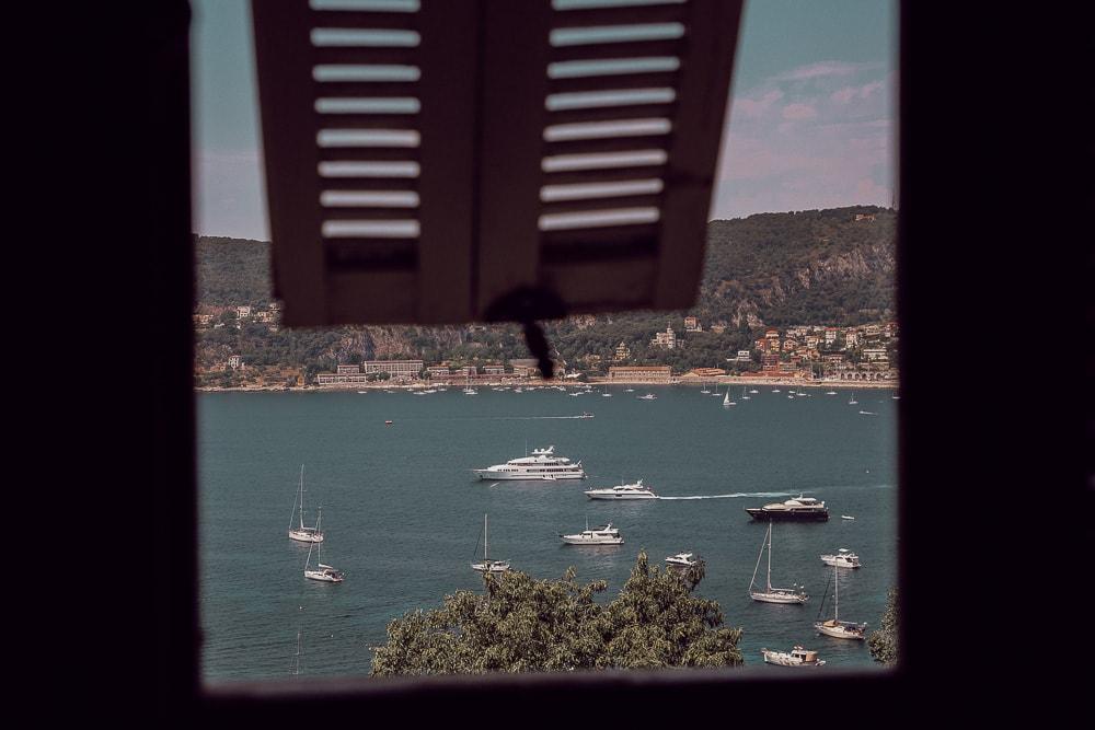 vue villefranche sur mer depuis villa ephrussi rothschild
