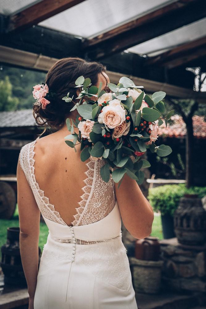 bouquet mariee fleuriste pays basque
