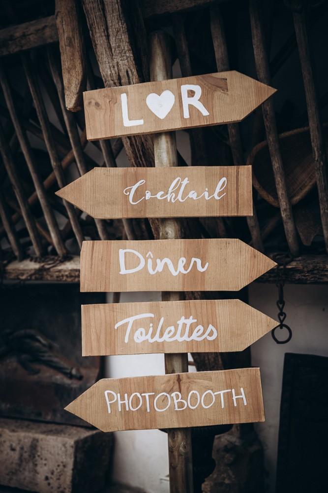 panneau decoration mariage
