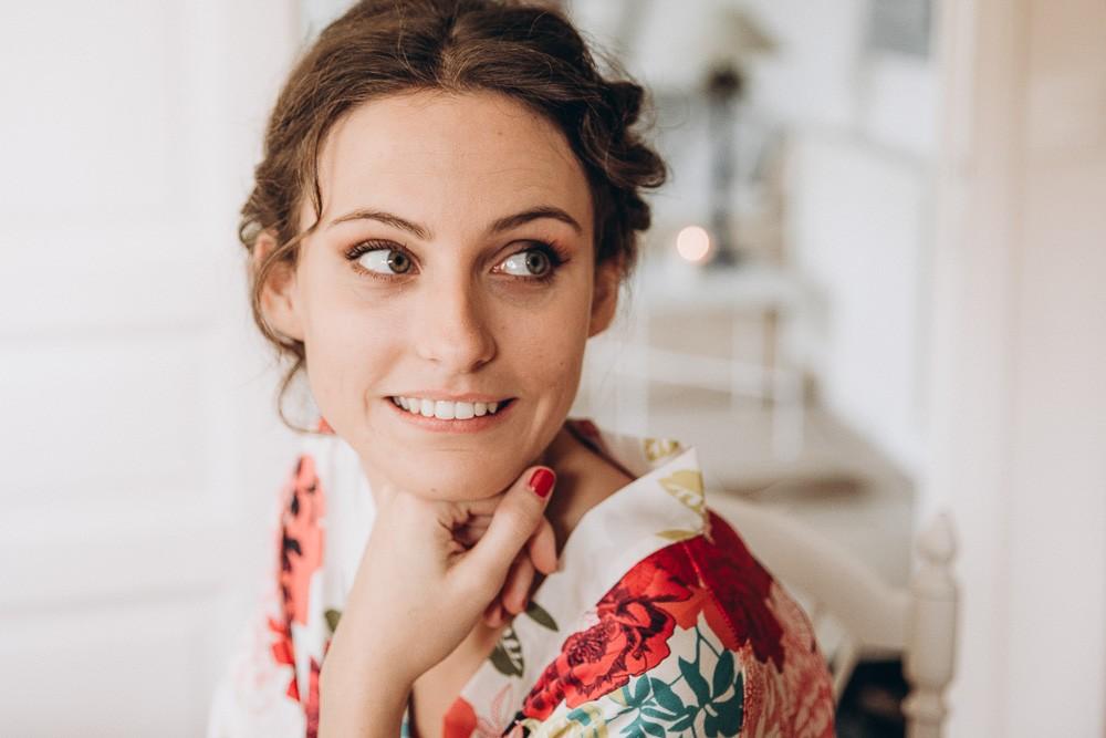 préparatif mariee pays basque
