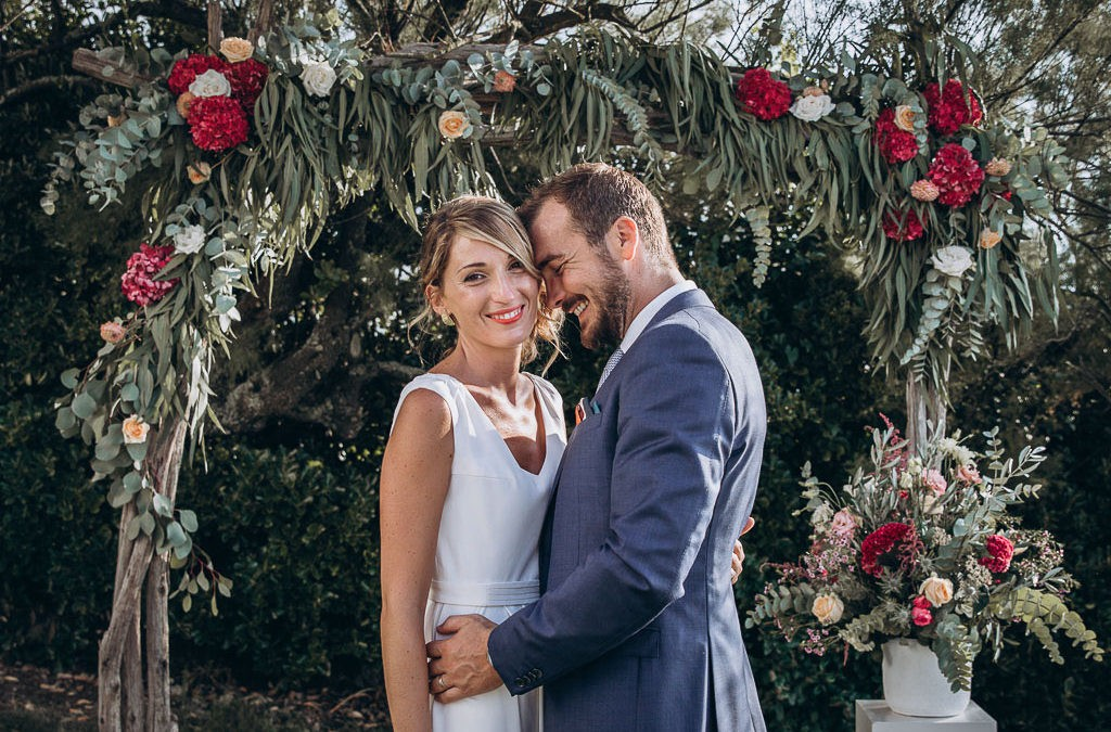 Mariage élégant à Emak Bakea
