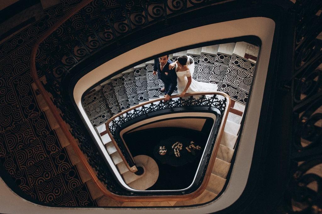 le regina biarritz couple mariage