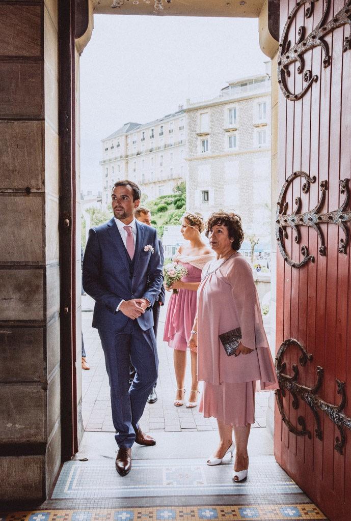 mariage eglise biarritz