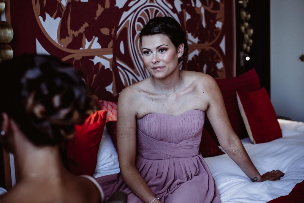 le regina biarritz preparatif mariee