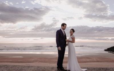 Mariage élégant à Biarritz