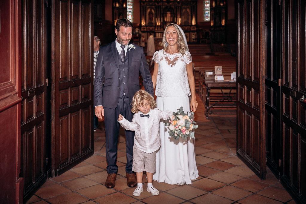 mariage eglise bidart