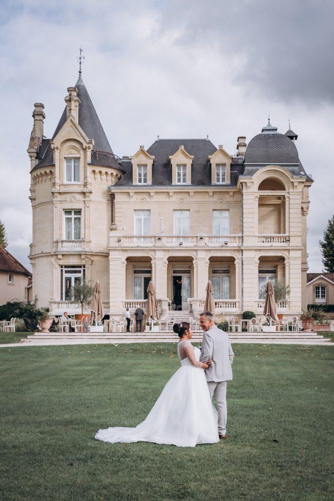 chateau grand barrail mariage