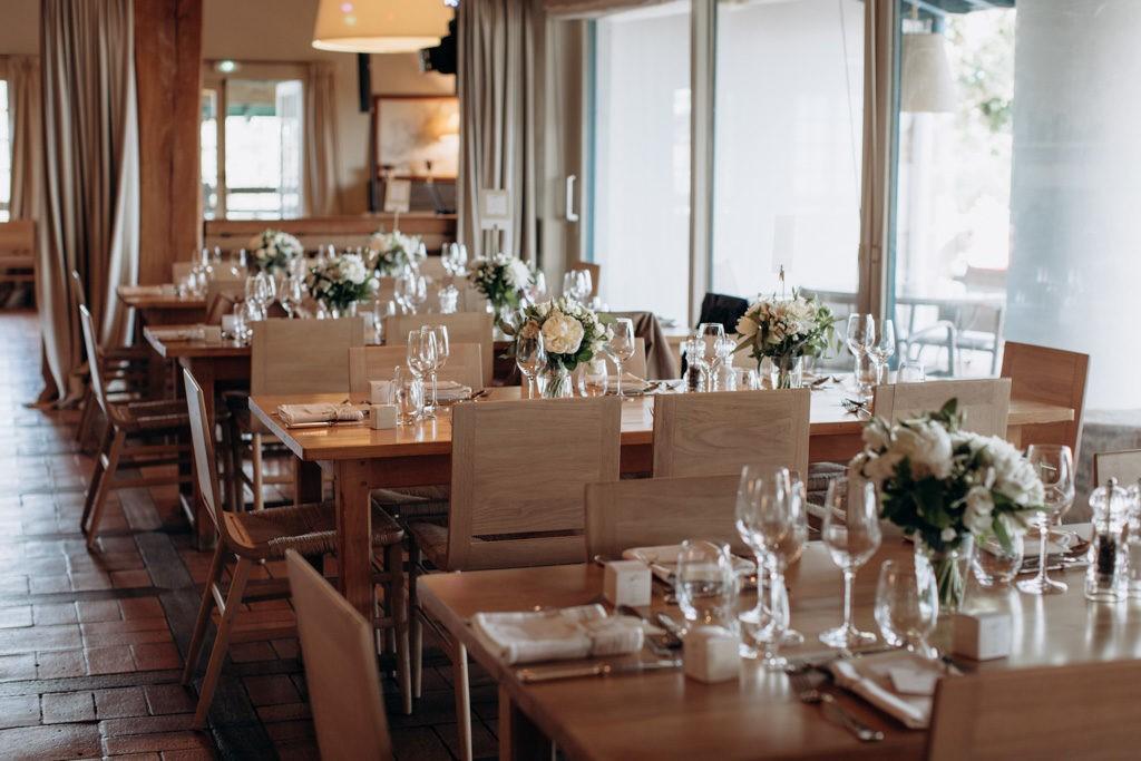reception mariage golf arcangues