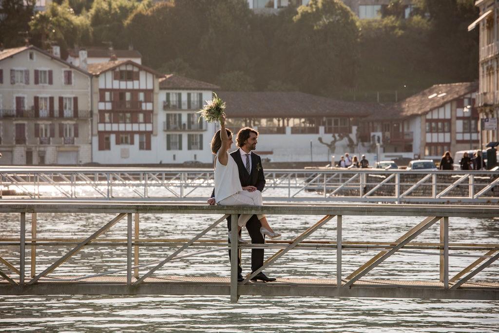 Mariage intime sur la cote basque