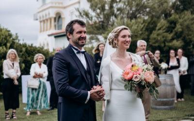 Mariage à Emak Bakea de Delphine et Eric