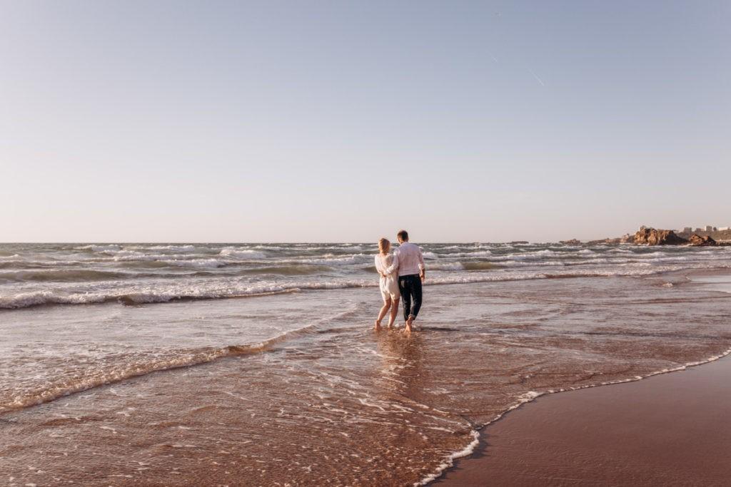 seance photo à la plage