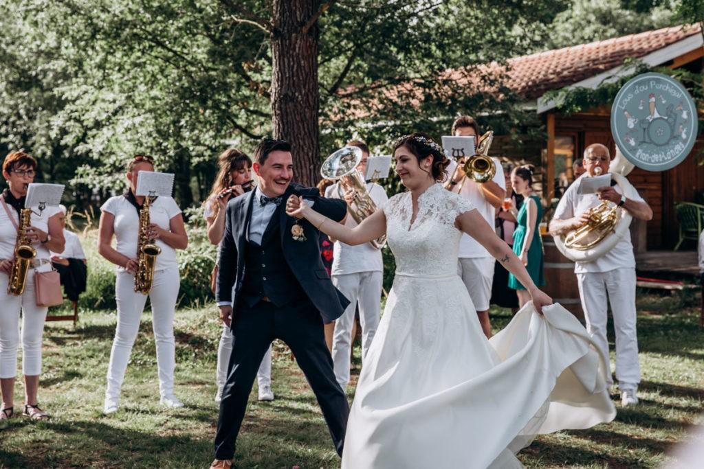 reception mariage landes