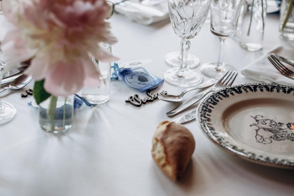 le petit bal vaisselle mariage
