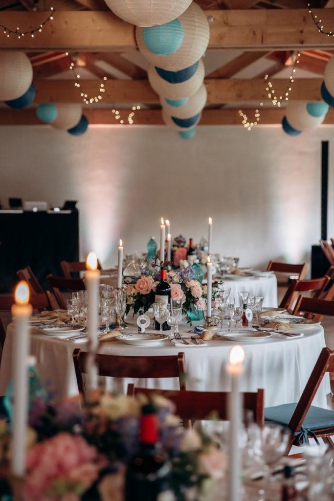 pastel creatif decoration mariage