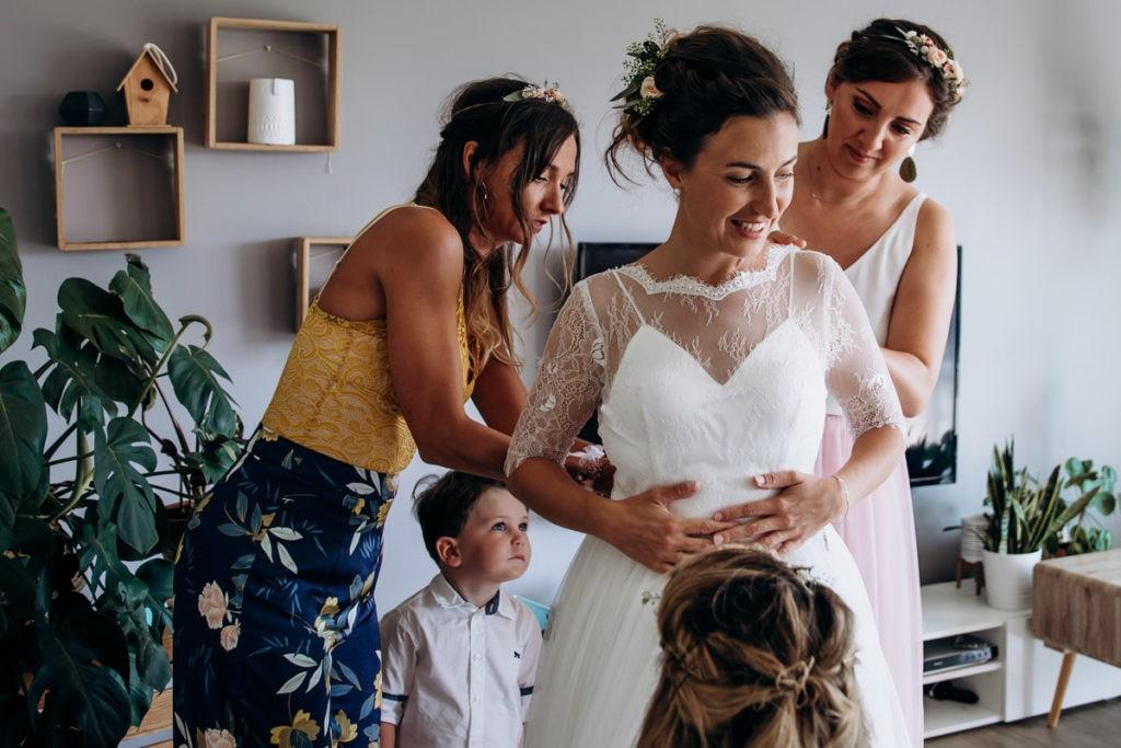 preparatif mariee pays basque