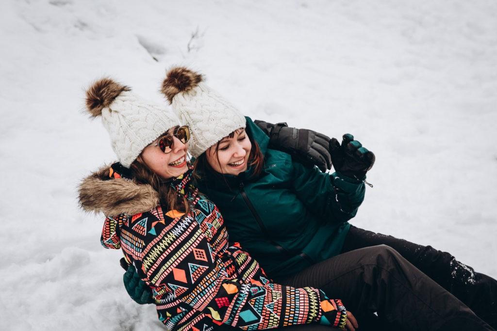 evjf à la neige