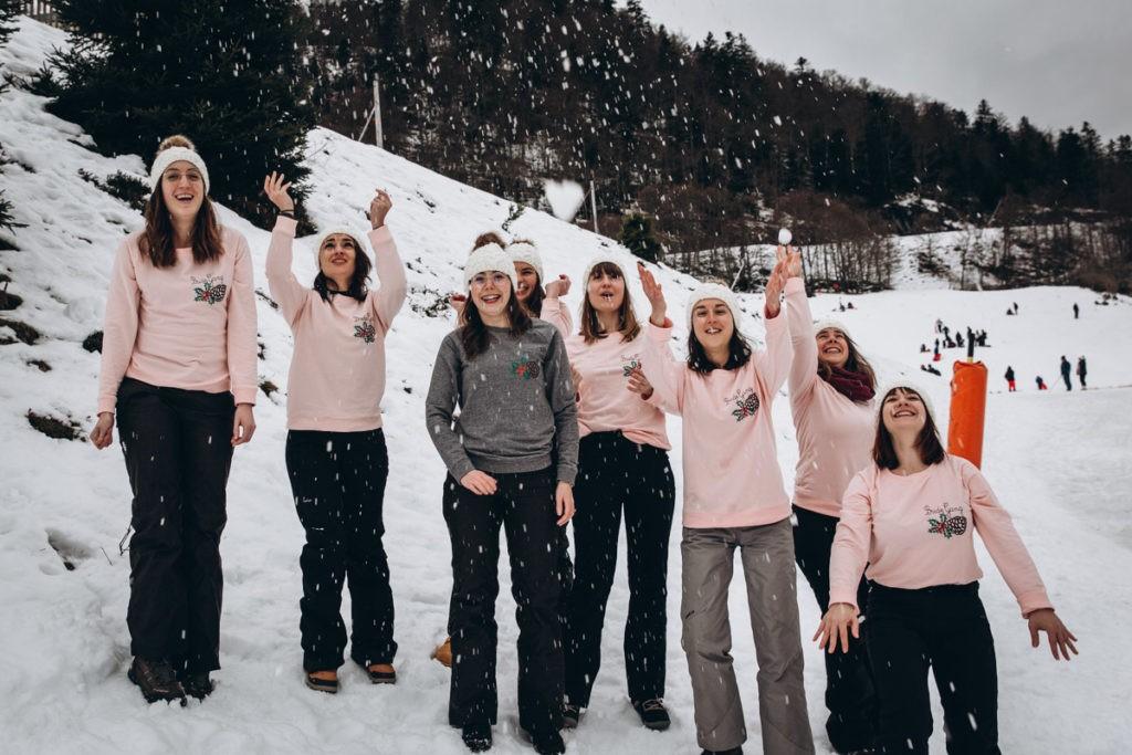 evjf montagne hiver