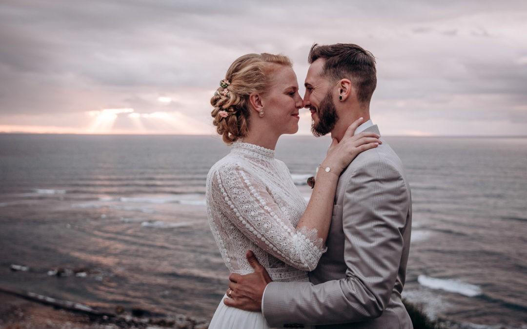 Mariage au bord de l'océan