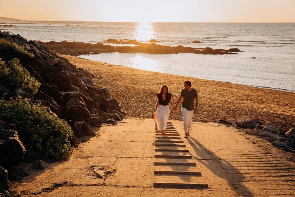 séance couple pays basque photographe